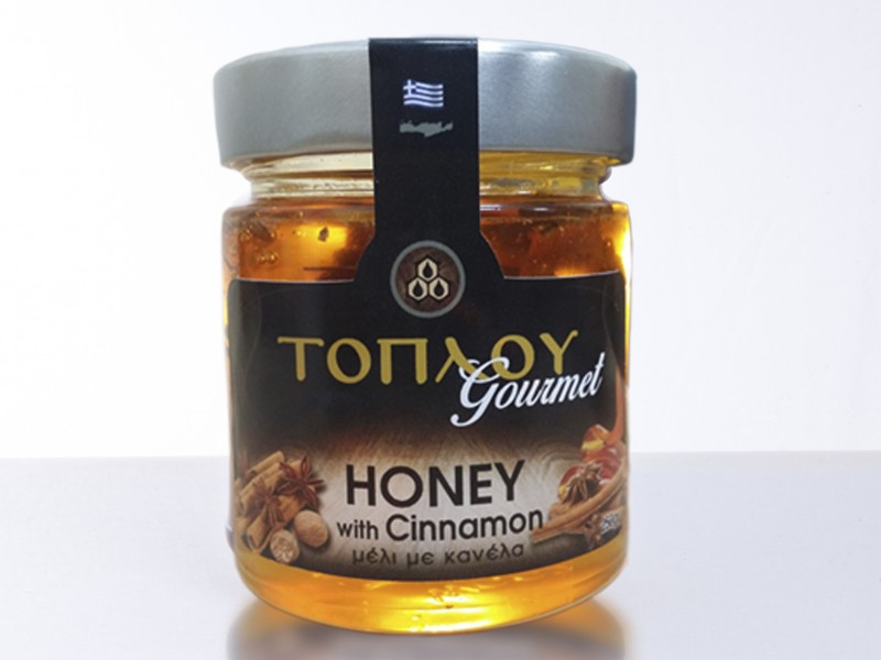 "Honey ""TOPLOU"" with Cinammon"
