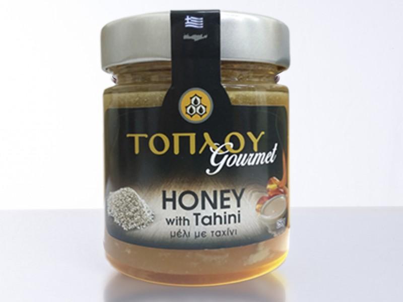 """Honey """"TOPLOU"""" with Tahini"""