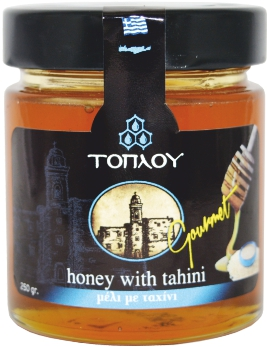 "Honey ""TOPLOU"" with Tahini"