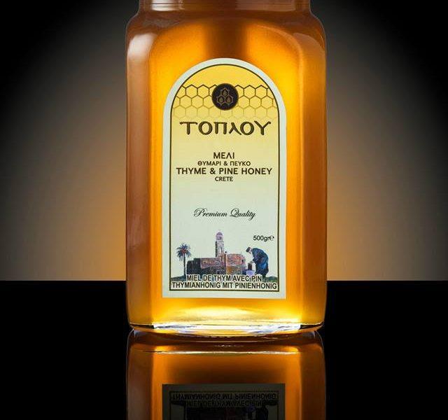 "Thyme & Pine Honey ""TOPLOU"""