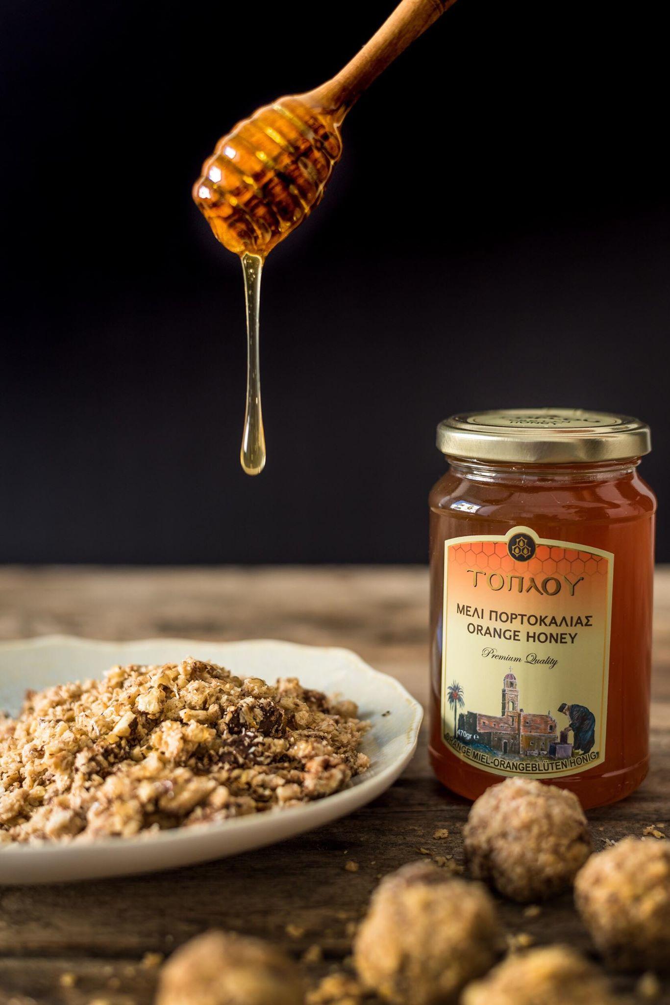 Honey toplou Μελι τοπλού