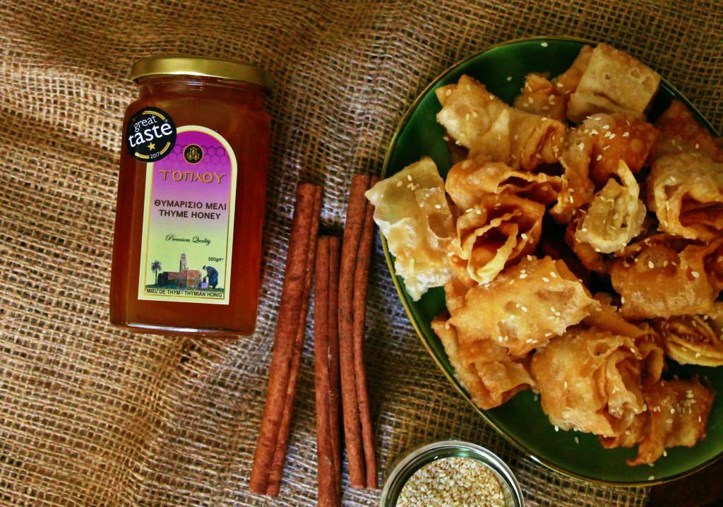 Honey toplou Μέλι Τοπλού