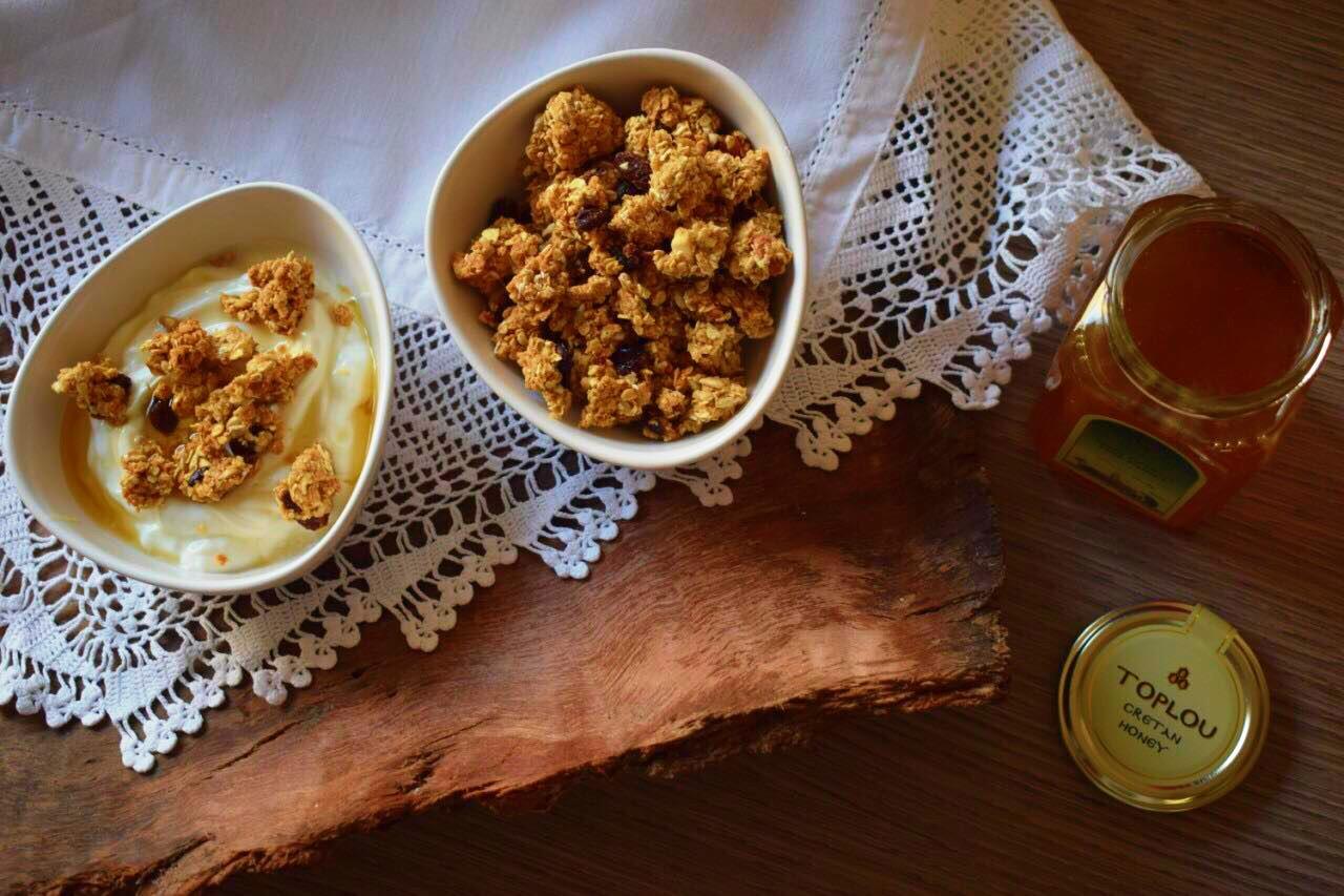 Σπιτική Granola με μέλι