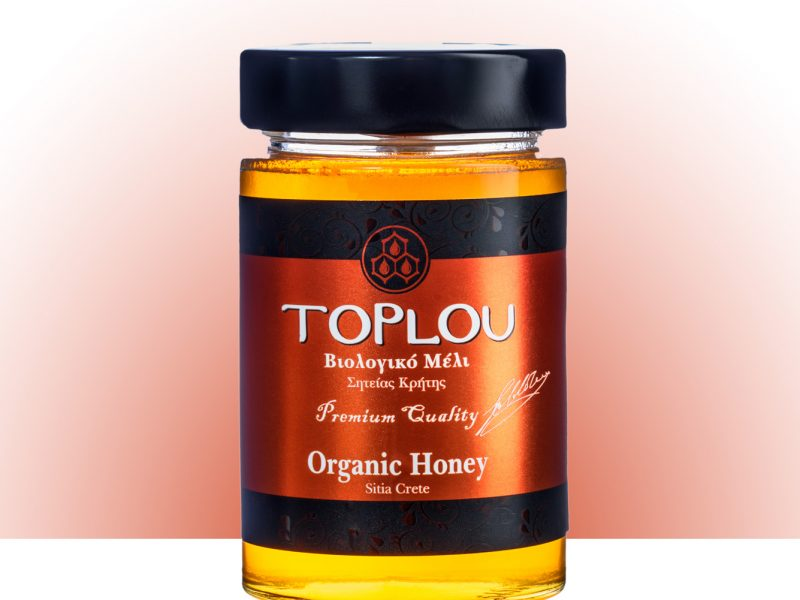 "Organic Honey ""TOPLOU"""