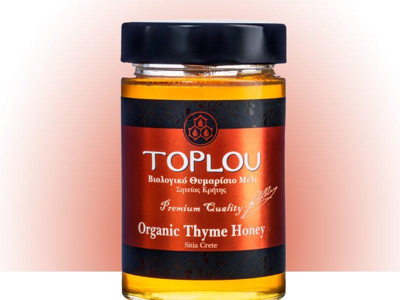 Organic Thyme Honey Premium